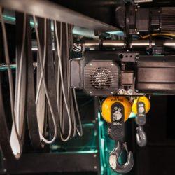 maintenance treuil plateau, machine spéciale